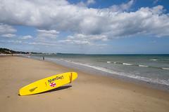 Sandbanks (danfish13) Tags: leica sea sun beach surf sandbanks rnli leicaq