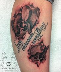 flowers (TH Tattoo - Salon tatuaje Bucuresti) Tags: thtattoo tatuaje tatuajebucuresti tattoo salon studio shop bucharest tatuaj