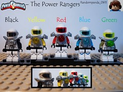 The Power Rangers (Random_Panda) Tags: show film television movie tv power lego fig films character figure movies shows characters minifig minifigs rangers figures figs minifigure minifigures