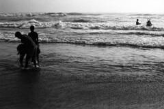 @ Marina Beach, Chennai, 2016 (bmahesh) Tags: life street people india film beach analog 35mm kodak kodaktrix marinabeach chennai tamilnadu wwwmaheshbcom