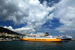 Bastia (France - Corse) (jaroslavhruska) Tags: france ferry island boat ship corse oldtown ferries francie bastia ostrov msto architektura lo moe corsicaferries sardiniaferries cestovn desperadocz