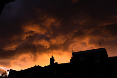 _MG_2431 (Jagot) Tags: uk sunset england london silhouette clouds moody dusk atmospheric walthamstow canonef28mmf18usm canoneos6d