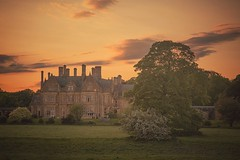 Branston Hall Hotel (SimonRobson) Tags: camera trees sunset red summer england orange cloud sun sunlight house tree green english simon nature sunshine yellow set clouds canon landscape photography restaurant hotel countryside hall spring woods scenery photographer side country fine scene semi lincolnshire professional lincoln 5d robson dining british dslr manor sunray branston canon5dmkiii 5d3 5diii