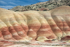 Painted Hills, Oregon (Sophie Carr Photography) Tags: oregon roadtrip geology paintedhills johndayfossilbeds