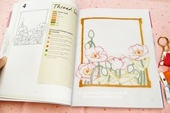 Romantic Motifs (Carina  Polka & Bloom) Tags: embroidery stitching mybook embroiderybook