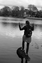 Life in Copenhagen (virtualwayfarer) Tags: blackandwhite woman tourism water canon copenhagen walking denmark log meetup streetphotography lifestyle tourists danish photowalk streetphoto balance dailylife dslr cph danmark balancing kbenhavn nationalgeographic christiania blackandwhitephotography kobenhavn christianshavn natgeo kbh canon6d yourshotmeetup