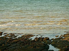 Sun Reflections (bimbler2009) Tags: ocean sea motion texture water reflections movement outdoor rockpools panasoniclumix