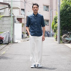 June 20, 2016 at 01:23PM (audience_jp) Tags: fashion japan shop tokyo audience snap  instep coordinate ootd      audienceshop   upscapeaudience