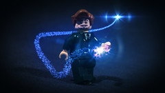 LEGO Remus Lupin (Geertos13) Tags: werewolf effects photography lego magic harry potter after custom lupin remus spells minifigure customize curses moony patronus expecto patronum