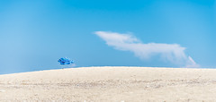003_Lefkada_2015 (michaelmelachrinidis) Tags: summer cloud beach umbrella windy whitesand beachumbrella