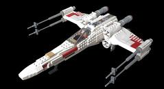 Incom T-65 (John Lamarck) Tags: star lego xwing wars t65 incom