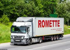 MB Actros 1841 MP3 L / Romette (UA) (almostkenny) Tags: truck ukraine mp3 camion mercedesbenz l mb ua lkw 1841 actros at ciarwka mpiii romette at5492be