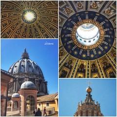 Cupola di San Pietro - Roma (lefotodiannae) Tags: roma san italia cupola di pietro lefotodiannae