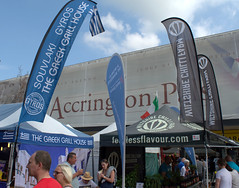 Banners at Accrington Food Festival 201 (Tony Worrall Foto) Tags: foodiesfestival england northern uk update place location north visit area county attraction open stream tour country welovethenorth accrington food festival town annual show event candid people buy stall sell bought eat taste lancs accringtonpals