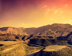Taming The Mighty Red Sea Mountains (Hazem Hafez) Tags: sunset sky mountains high rocks altitude redsea egypt leveling