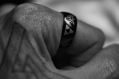 New Ring #2 (TNMYcFan182) Tags: ring jewelery macro macrophotography blackandwhite bw monochrome fujifilm fujixpro1 fujifilmxseries voigtlander vintage vintageglass