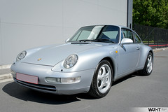C4GS-27 (Wax-it.be) Tags: blue leather silver low 4 911 glacier porsche midnight mileage coupe carrera c4 detailing silber 993 zilver swissvax waxit