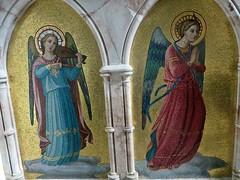 Barnack Cambridgeshire (jmc4 - Church Explorer) Tags: barnack church northamptonshire reredos angel music