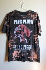 Dip Bleached and Shredded Pink Floyd T Shirt (shopthegasstation) Tags: ladies music black festival rock metal shirt flesh altered pig clothing concert tour graphic cut top grunge ripped band bleach tshirt guys womens pinkfloyd gasstation clothes beat mens jersey etsy dye distressed tee unisex destroyed splatter shredded bleached dyed splattered grls