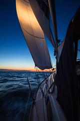 Just cruising (Per-Karlsson) Tags: longexposure sea water night sailing summernight yatching bavaria30cruiser