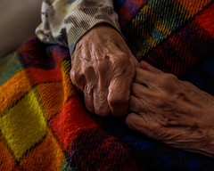 Mani segnate dalla vita (Lella '54) Tags: mani crossedhands rugose veryoldhands luceradente grazinglight coloredblanket wrinkledhands veinsinevidence veneinevidenza thebestcapture photooftheyear2016 photooftheyear2016pearls elitegalleryaoi bestcapturesaoi