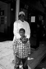 boy with grandfather (vhines200) Tags: sanfrancisco boy grandfather fillmore 2016 juneteenth