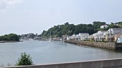 1744 Afon Glaslyn at Porthmadog (Andy panomaniacanonymous) Tags: 20160606 cymru gwynedd masts mmm northwales photostream porthmadog wales welshhighlandrailway yacht yyy