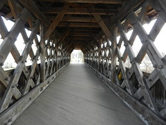 Covered bridge full of X's (elma2010 14k photos, 400k views) Tags: bridge guelph letterx