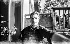 Pinhole Selfie (ebentakespictures) Tags: camera film analog mediumformat pinhole fujifilm acros100 ondu neopanacros100 fujineopanacros100 fujifilmneopanacros100 rodinol film:brand=fuji film:iso=100 developer:brand=agfa agfar09oneshot developer:name=agfar09oneshot film:name=fujineopanacros100 filmdev:recipe=10820
