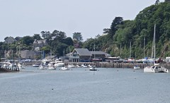 1745 Porthmadog harbour (Andy panomaniacanonymous) Tags: 20160606 cymru gwynedd marina masts mmm northwales photostream porthmadog wales welshhighlandrailway yacht yyy