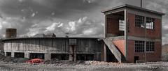 VIP's lounge (ericbaygon) Tags: sky cloud plant brick abandoned concrete nikon ciel brique usine coking abandonn cokerie nikonpassion d300s