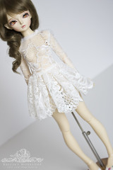 little lace cocktail dress (kalcia) Tags: doll bjd dollfie superdollfie fairyland abjd miyu msd mnf balljointeddolls minifee