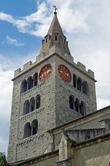Sion (canton du Valais) : Notre-Dame du Glarier (bernarddelefosse) Tags: suisse valais sion notredameduglarier clocherporche
