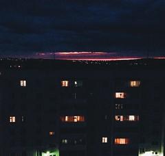 (underclassics) Tags: roof light sunset summer window nice beaty highrise beautifully iphone