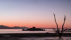 Salton Sea Sunset (Linda Goodhue) Tags: california longexposure sunset sky lake colour nature water silhouette landscape desert southerncalifornia saltonsea nikond800 lindagoodhuephotography