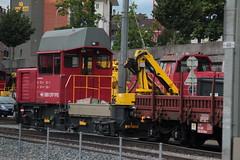 SBB Tm 234 074 - 3 Ameise ( Bahndiensttraktor - Baudiensttraktor - Traktor - Tm 2/2 - Hersteller Stadler - Adtranz - Inbetriebnahme 2.0.0.1 ) am Bahnhof Luzern im Kanton Luzern der Schweiz (chrchr_75) Tags: train schweiz switzerland traktor suisse swiss eisenbahn zug sbb tm christoph svizzera bahn treno schweizer ffs 234 suissa cff chrigu bahnen chrchr hurni chrchr75 chriguhurni juni2016 chriguhurnibluemailch bahndiensttraktor