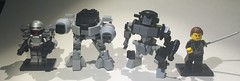 lego  robocop  Ed209  Cain  Otomo (Syntheticmason 1) Tags: lego robocop ed209 cain otomo