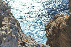 Cova d'en Mo (Luck and intuition 9) Tags: blue sea coast rocks mediterranean shore menorca baleares medi balears illesbalears