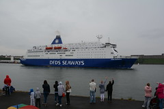 Sail to me (quintinsmith_ip) Tags: sea water ferry king ship ships cargo shipping rivertyne dfds