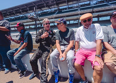 On the pit wall before the SVRA Indy Legends Pro Am race. (michaelallanfoley) Tags: nikon tokina f28 1116 1116mm d7000