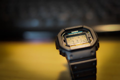 G-Shock (sonica@2006) Tags: life love japan that for this photo still with bokeh many been used casio fujifilm years how about wristwatch has fujinon tried gshock housed xm1 i xf35mm