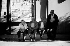 L'appello [Explore n.56 del 23/06/2016] (encantadissima) Tags: monocromo streetphotography ombre luci sicilia anziani panchina raduno bienne allaperto caltanissetta mazzarino manifestifunebri