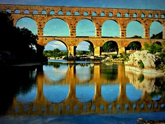 FRANCE - Provence , rm. Aqudukt  Pont du Gard, Reflection, 75162/6836 (roba66) Tags: city travel bridge house france reflection building history tourism monument glass arquitetura architecture reflections mirror reisen frankreich ruins roman platz urlaub rustic haus places visit historic ruine explore reflect architektur pont historical provence brcke francia franca reflexo spiegelung bau antic faade reflejos fassade reflektion historie voyages camargue huser riflesso geschichte antik archaelogy aqudukt archologie ausgrabungen pontdegard camarque riflessioni kulturdenkmal provenca roba66