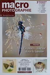 magazine macro photographie (bertholino fabrice) Tags: magazine magazinemacrophotographie fabricebertholino portfolio insectes libellules papillons bokeh parution revue