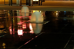 The lights of my city (Goruna) Tags: reflection water night nightlights fountains goruna