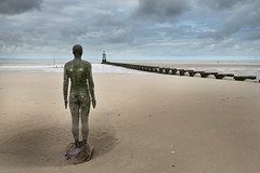 Antony Gormley's Another Place (pentlandpirate) Tags: beach liverpool crosby antonygormley merseyside anotherplace