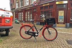 WorkCycles Gr8 Red-Black-3 (@WorkCycles) Tags: amsterdam bike custom distillerij distillery dutch fiets gr8 holland ooievaar red stadsfiets transportfiets workcycles