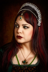 Anne Boleyn 2 (Azadeh Brown) Tags: wedding tiara green girl beauty fairytale dark painting bride persian model opera dress princess theatre cosplay balcony gothic goth goddess royal folklore worldofwarcraft medieval queen elf lotr vogue fantasy femmefatale crown celtic gown elegant azadeh middleages robinhood theatrical regal alternative larp superstitious pagan maidmarian preraphaelite damsel evilqueen gothchick darkelf margamcastle anneboleyn persianbeauty arthurian gameofthrones gothbride grimmfairytales gothicart preraphalite gothicqueen persianprincess persianmodel gothbeauty celticlady azadehbrown persianqueen