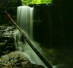 2016_0629Dark-Falls-Pano0001 (maineman152 (Lou)) Tags: summer nature water june waterfall stream dam newhampshire waterfalls brook fallingwater naturephotography naturephoto