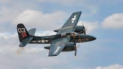 Grumman F7F Tigercat (hotdog.aviation) Tags: koreanwar planesoffame planesoffameairshow marines unitedstatesmarinecorps usmc grumman tigercat f7ftigercat grummanf7ftigercat